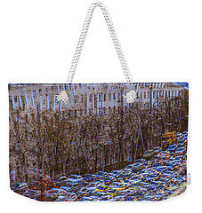 City Traffic Weekender Tote Bag