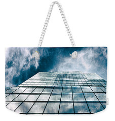 Weekender Tote Bag featuring the photograph City Sky Light by Jessica Jenney
