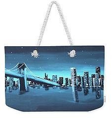 City Skyline Weekender Tote Bag