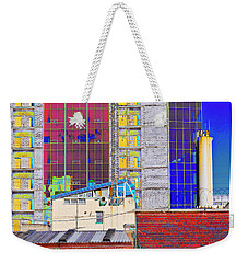 City Space Weekender Tote Bag