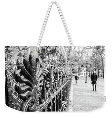 Weekender Tote Bag featuring the photograph City Street by Ana V Ramirez