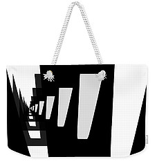 Weekender Tote Bag featuring the digital art City Trees by Bob Wall
