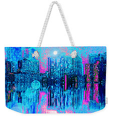 City Twilight Weekender Tote Bag by Holly Martinson