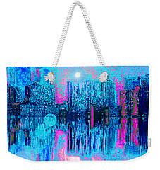City Twilight Weekender Tote Bag