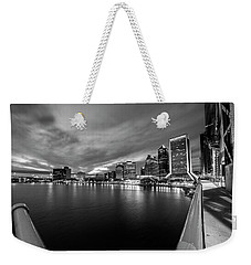 City View Weekender Tote Bag