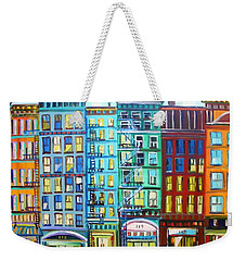 City Windows Weekender Tote Bag