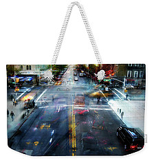 Cityscape 39 - Crossroads Weekender Tote Bag
