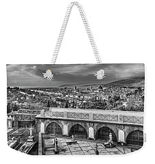 Cityscape Of Florence And Cemetery Weekender Tote Bag