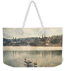 Cityscape Of Lucerna Weekender Tote Bag