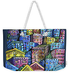 Cityscape Sculpture Weekender Tote Bag