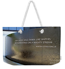 Civil Rights Memorial Weekender Tote Bag