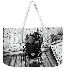 Rhode Island Civil War, Vacant Chair Weekender Tote Bag