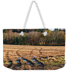 Weekender Tote Bag featuring the photograph Clackmannan Tower In Central Scotland by Jeremy Lavender Photography