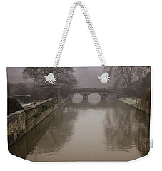 Claire College Bridge Weekender Tote Bag by David Warrington