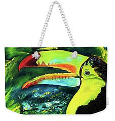 Clara's Toucan Weekender Tote Bag
