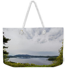 Weekender Tote Bag featuring the photograph Clark Lookout by Michael Friedman