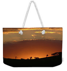 Weekender Tote Bag featuring the photograph Clarkes Road II by Evelyn Tambour