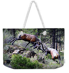 Clash Of The Titans Weekender Tote Bag