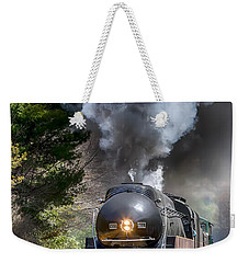 Class J 611 Steam Engine At Ridgecrest Weekender Tote Bag