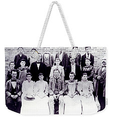 Class Of 1894 Bw Weekender Tote Bag