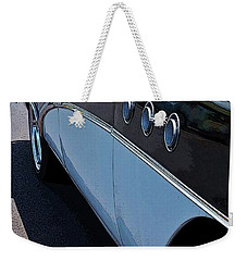 Classic 55 Buick Special Weekender Tote Bag by Craig Wood