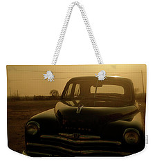 Weekender Tote Bag featuring the photograph Classic America, Eight by Iconic Images Art Gallery David Pucciarelli