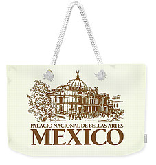 Classic Architecture In Mexico City Print Weekender Tote Bag