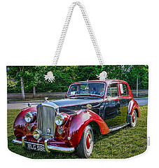 Classic Bentley In Red Weekender Tote Bag