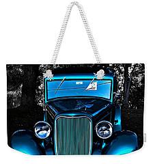Classic Blue Weekender Tote Bag