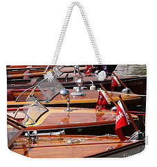 Classic Boats Weekender Tote Bag