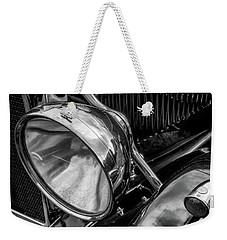 Weekender Tote Bag featuring the photograph Classic Britsh Mg by Adrian Evans
