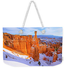 Weekender Tote Bag featuring the photograph Classic Bryce by Chad Dutson