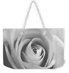 Classic Bw Rose Weekender Tote Bag