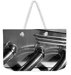 Classic Car Exhaust Weekender Tote Bag
