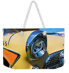 Weekender Tote Bag featuring the photograph Classic Car by Mariusz Czajkowski