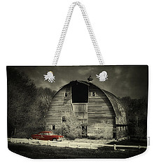 Classic Chevrolet  Weekender Tote Bag by Julie Hamilton