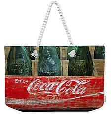 Classic Coke Weekender Tote Bag by David Lee Thompson