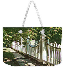 Classic Fence Weekender Tote Bag