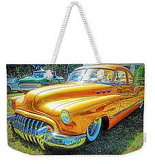 Classic Fifties Buick - Cruising The Coast Weekender Tote Bag