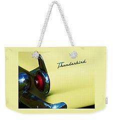 1955 Ford Thunderbird Weekender Tote Bag