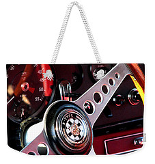 In The Drivers Seat Weekender Tote Bag