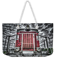 Weekender Tote Bag featuring the photograph Classic Locomotive by Spencer McDonald