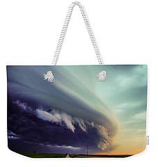 Classic Nebraska Shelf Cloud 027 Weekender Tote Bag