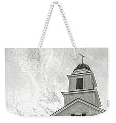 Weekender Tote Bag featuring the photograph Classic New England Church Etna New Hampshire by Edward Fielding