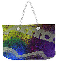 Weekender Tote Bag featuring the drawing Classic Rock by Melissa Goodrich
