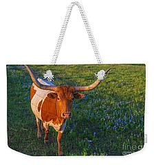 Classic Spring Scene In Texas Weekender Tote Bag