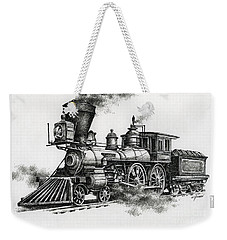 Classic Steam Weekender Tote Bag