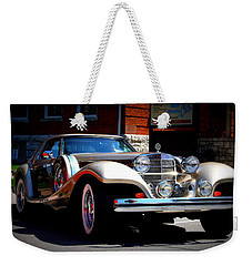 Weekender Tote Bag featuring the photograph Classic Streets by Al Fritz