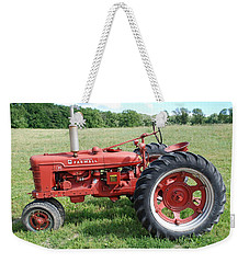 Classic Tractor Weekender Tote Bag by Richard Bryce and Family