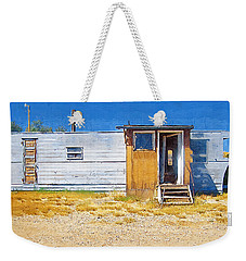 Weekender Tote Bag featuring the photograph Classic Trailer by Susan Kinney